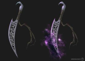 Wolnir's Unholy Dagger by Sirens-Voice