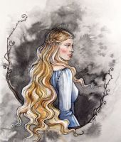 Princess of Nargothrond by LiigaKlavina