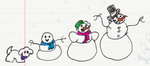 Classic-snow Family by superpower-pnut