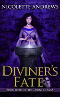 Diviner's Fate by Nicolette Andrews - ebook cover by TheSwanMaideN