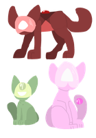 Corrupt Cats Adopts! by TheLonerHealer