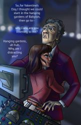 Valentine's Day in the TARDIS by iesnoth