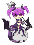 Void Princess Chibi (Elsword) by Ranmay