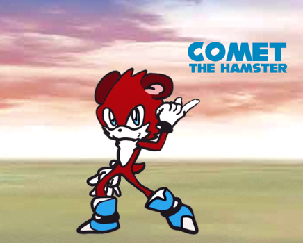 Comet the Hamster by Boost2win2003