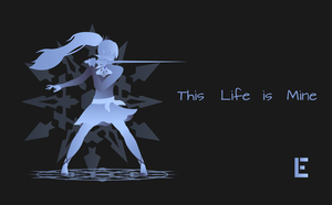 Weiss Schnee Gradient Background by thelivingethan