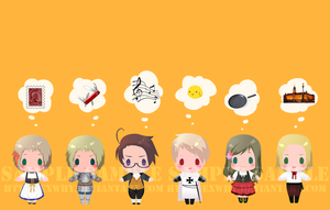 APH - card sticker set 2 by exwhy