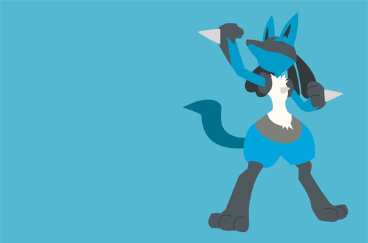 Lucario by DuckyTie83