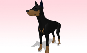 MMD Dog download by amiamy111