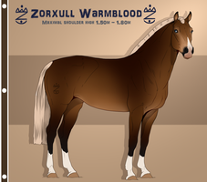 Zorxull Warmblood 1 | foundation import | OPEN by Pashiino