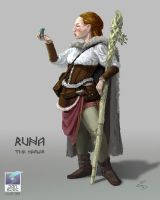 Vale of Odin - Runa the Healer by PanSpec