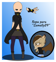 ropa fan character by lapop83