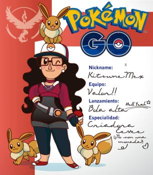 Pokemon GO Trainer Card by Kitsune-Megamisama