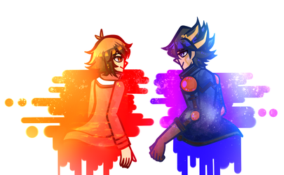 Those Protags by Dreamin-8-bit