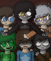 Caleb and his Others  by Lubby-Alexa