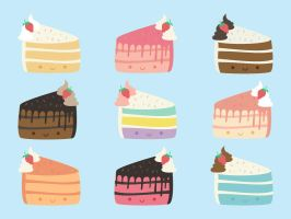 Cute Cakes by apparate