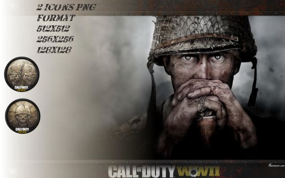 Icons PNG Call of Duty WW2 by favorisxp