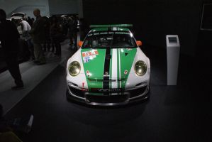 porsche 911 gt3 B S R race car by JoshuaCordova