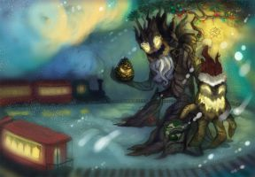 Christmas or Winter Maokai by Sitaart