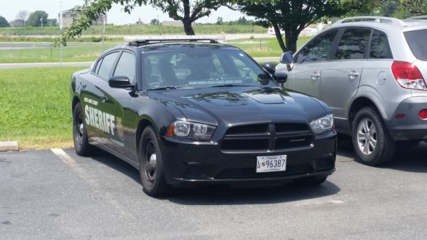 Sheriff Dodge Charger by canona2200