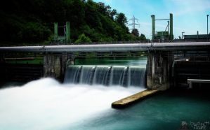 Hydroelectric Power Station by LeWelsch