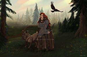 Commission: Howling Fjord by Enife