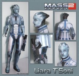 Liara Papercraft Download by Avrin-ART