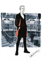 12th Doctor by elena-casagrande