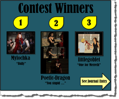 Contest Winners -- Lady Merreth's Second Contest by LadyMerrethsAuthor