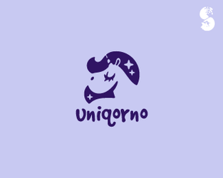 uniqorno-Logo by whitefoxdesigns