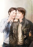Charles and Wesley Crossover by Brilcrist