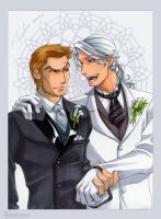 Apollo and Midnighter: Take me by vejiicakes