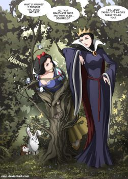 Snow White by eiqe