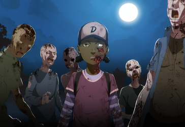 Commission - The Walking Dead: Not one of them by dannex009