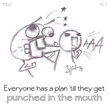 #11 Punched in the mouth by senkei