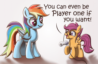 Do you wanna play? by Evil-DeC0Y