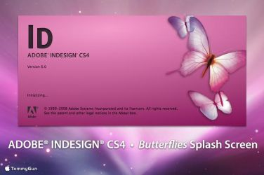 Adobe InDesign CS4 - Butterfly by TommyGun96