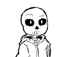 Undertale - Sans animation by denevert