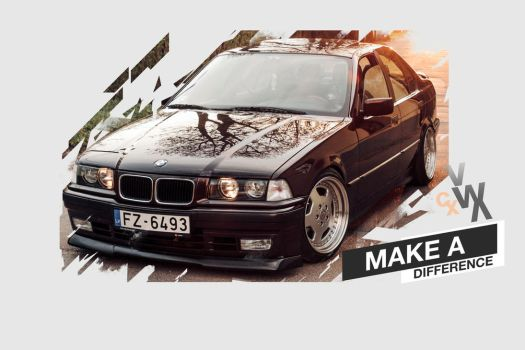 BMW 318is Wallpaper /FRWX/ by Forwox