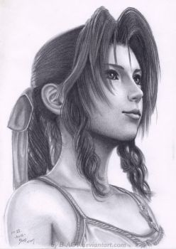 Aerith Final Fantasy VII by B-AGT