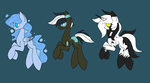 Open Pony Adopts by SpaazleDazzle