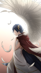The prince with golden wings [Fire Emblem Heroes] by FlatObelisk