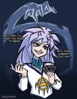 Dub!Bakura Puns by DragonBeak