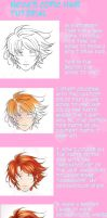 Neva's copic hair tutorial by Nevaart
