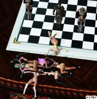 Chess Pieces by B69comics