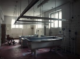 Sanatorium - bathroom by Alaisyn