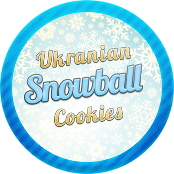 Ukranian Snowball Cookies by Echilon