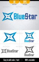 Blue Star by doghead