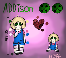 HappyPasta OC - Addison the Doll [WIP] by HopefulEntertain