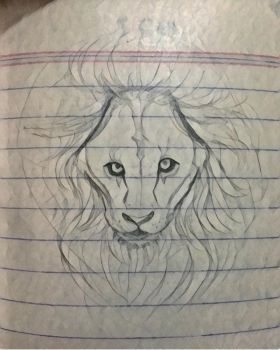 Lion by The-red-rose
