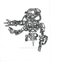 Card Playing Robot - 2008 by Nails43